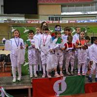 3-й этап Гран-при KIDS FENCE 2015