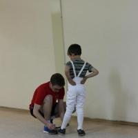 Мастер класс в тренировочном лагере