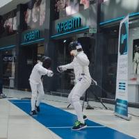 Финал GP KIDS FENCE OPEN 2016-2017 в ТРЦ ARENAcity
